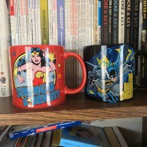 Batman/Wonder Woman Mugs